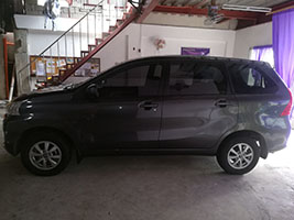cheapest auv rent a car manila