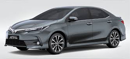 midsize sedan for rent manila