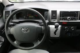 Toyota Grandia van for rent