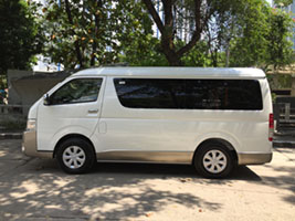 van for rent manila toyota garndia Gl