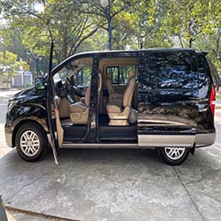 2020 Hyundai Grand Starex gold for rent right side door