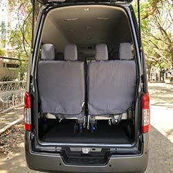 NV350 foldable 4th row www.carrentmanila.com