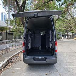 NV350 rear door www.carrentmanila.com