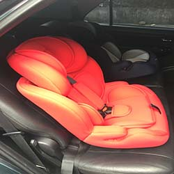infant seat solo red