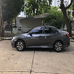2018 honda civic left side view