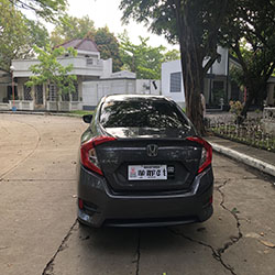 honda civic for rent manila sports type sedan