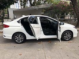 honda city car for rent in manila right side doors open