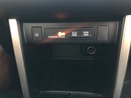toyota vios 2018 eco and power mode button